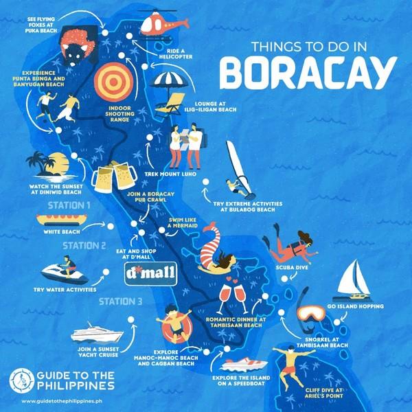 Anong magandang activity sa Boracay