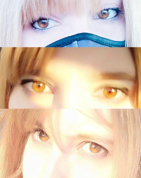 De que color tienes los ojos Sube fotos de tus ojos
