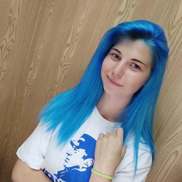 В какой цвет бы ебанули волосы