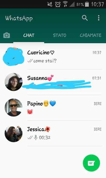 scrren whatsapp