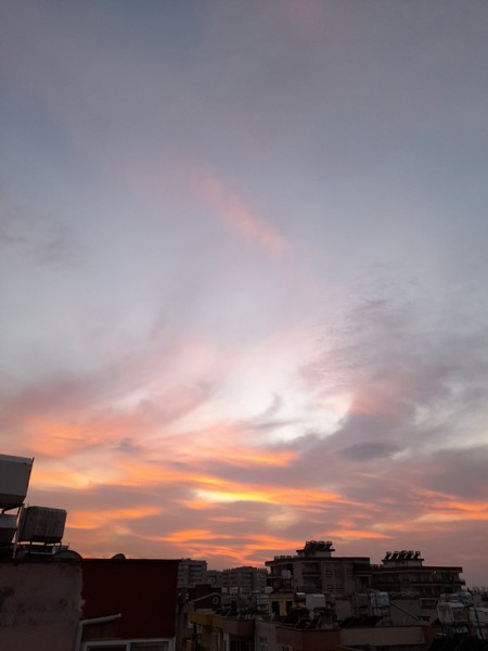 Bi gün batımı paylaş