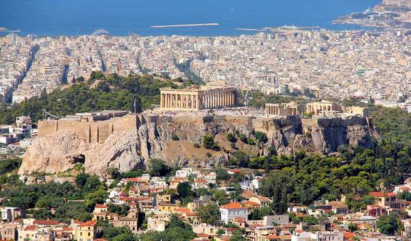 Buon pranzo N 19 Atene Grecia siamo nella culla della civiltà del Mediterraneo