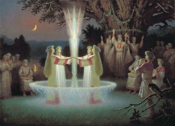 uroczystości w Świętym Gaju