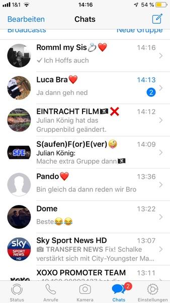 WhatsApp Chats