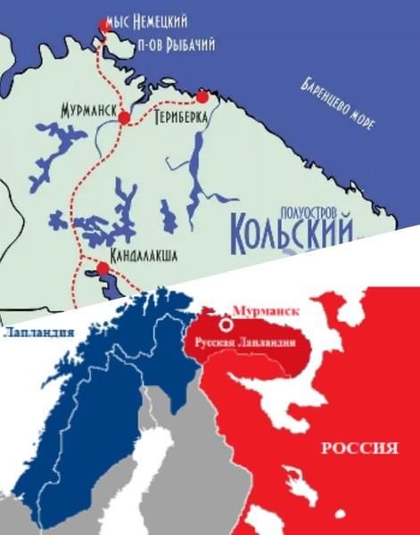 Море на котором стоит порт Мурманск  Нормандское Мурманское Штурманское