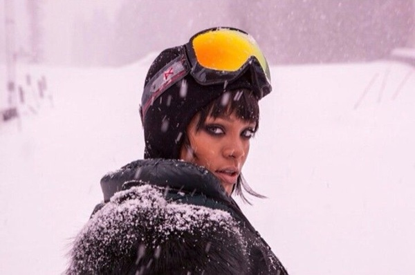 Poproszę o zdjęcie na tle śniegu