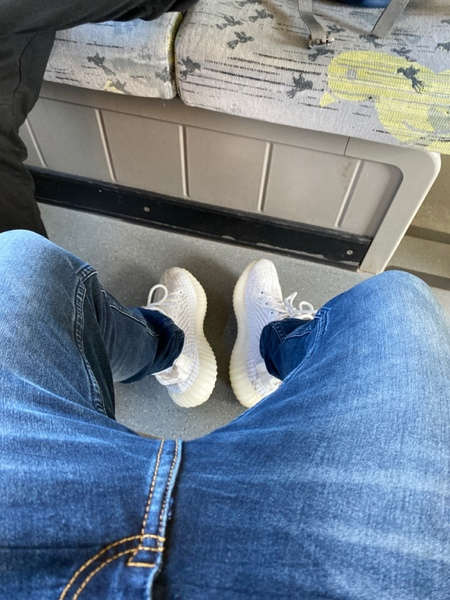 Bild von deinen Schuhen die du heute trägst
