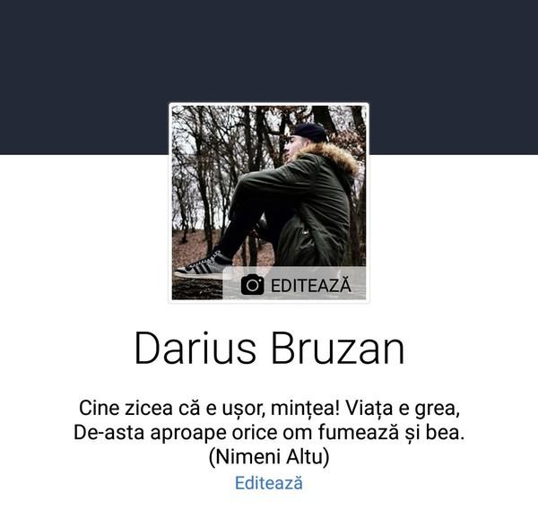 Profilul de fb