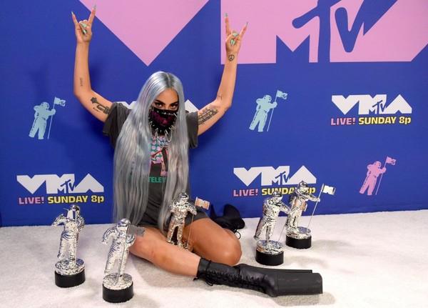 Lady Gaga zdobyła aż 5 nagród na VMAs 2020  I jest największą zwyciężczynią