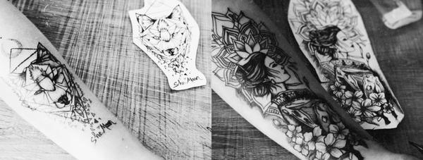 Татуировки сделала