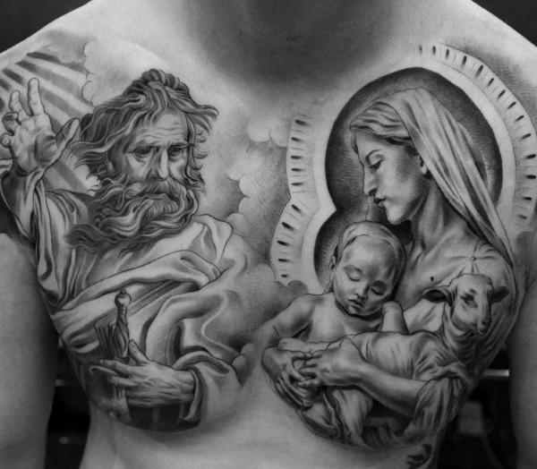 Большая или маленькая тату