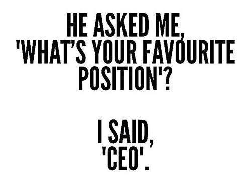 Sex Position Ceo