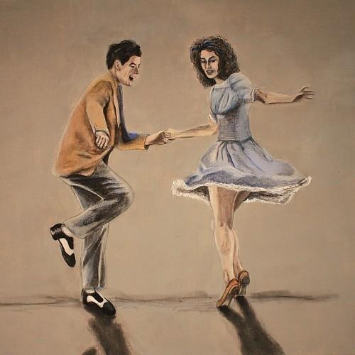 мы танцуем бугивуги поворачиваясь в круге
