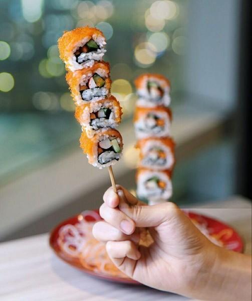 Суши или шашлык