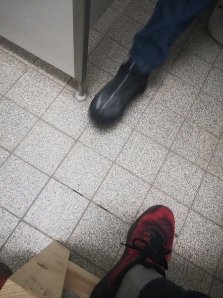 Was ist deine Schuhgröße