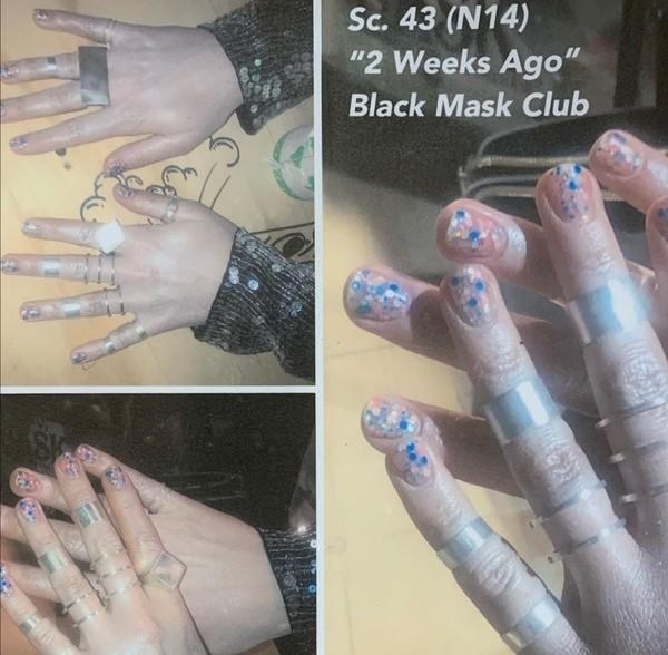 NOWESTARE Wcześniej nie opublikowane zdjęcia paznokci Margot jako Harley Quinn