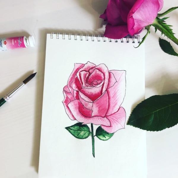 любите рисовать выложи свое последнее творчество