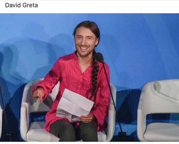 Glaubst du das Greta die Schwedische Rot znase die Welt retten kann