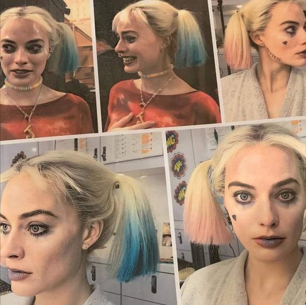 NOWESTARE Wcześniej nie opublikowane zdjęcia Margot jako Harley Quinn zza kulis