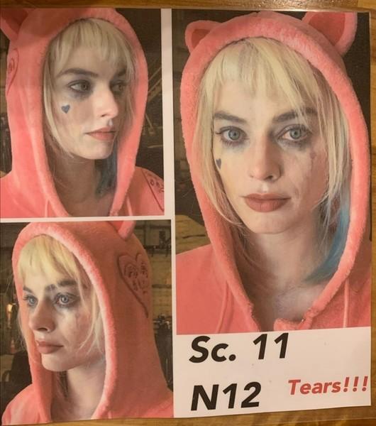 NOWESTARE Wcześniej nie opublikowane zdjęcia Margot jako Harley Quinn w Birds