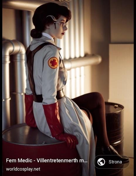 Serce mnie boli jak widzę cosplaye kobiet scifi i wszelkich cyber klimatów Na