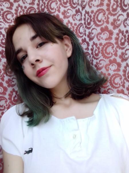 Какой у тебя сейчас в итоге цвет волос