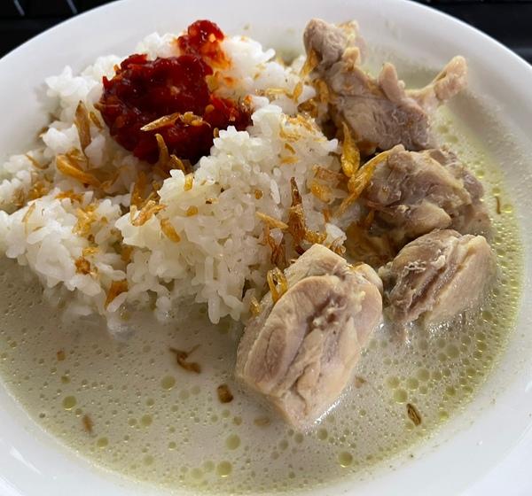 Om jack kangen masakan Indonesia gak Kalau iya apa tuh hehehe
