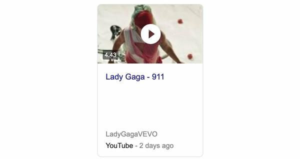 Według YouTube wideo 911 trwa 443 minuty  911iscoming
