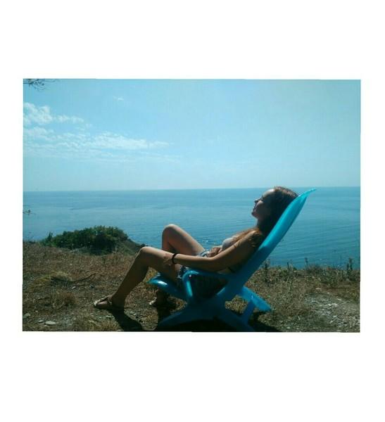 Привет  А у тебя уже есть фотографии с моря речки