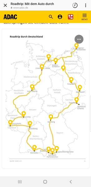 kannst du mir schöne orte in deutschland empfehlen möchte in meinem urlaub