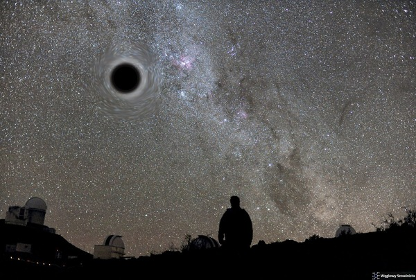 What will you see when a black hole forms on someones black pants Justify your