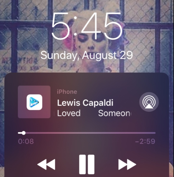 When Lewis capaldi said Im going under and this time I fear theres no one to
