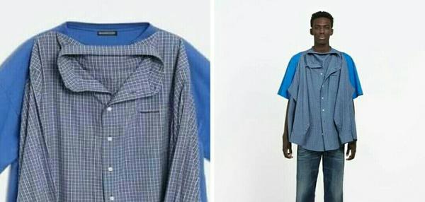أغرب تصميم لقميص تيشرت بسعر  1300    أثار تصميم غريب لقميص وتيشيرت في آن واحد