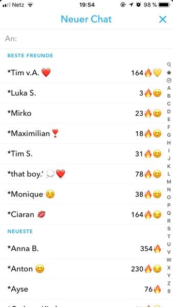 Snapchat beste freunde pls