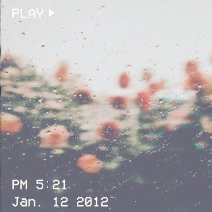 Za oknem desz