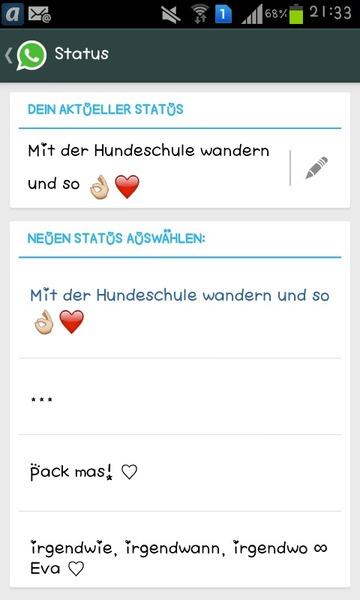 Status verliebt whatsapp 124 Liebessprüche: