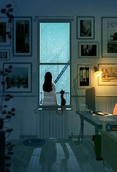 Истинное одиночество  это присутствие человека который тебя не понимает