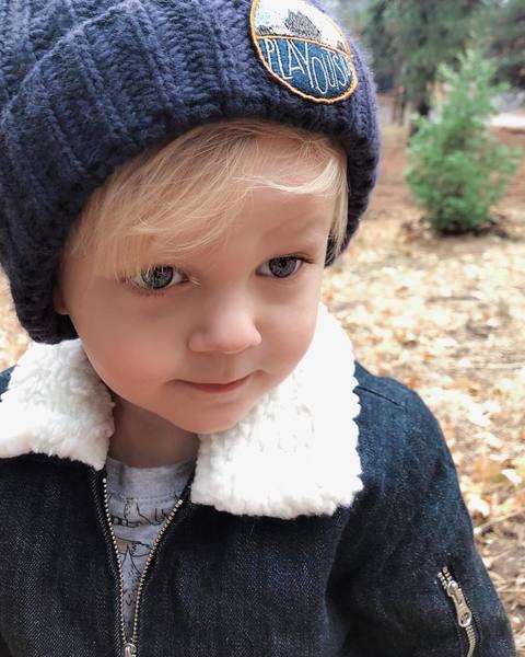 My sweet little boy