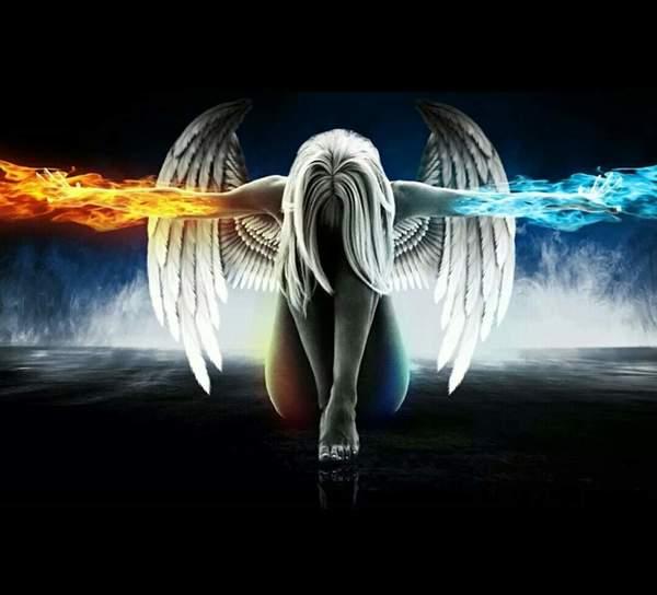 Представьте себя ангеломдемоном можно тем и тем Что бы вы делали Какая у вас