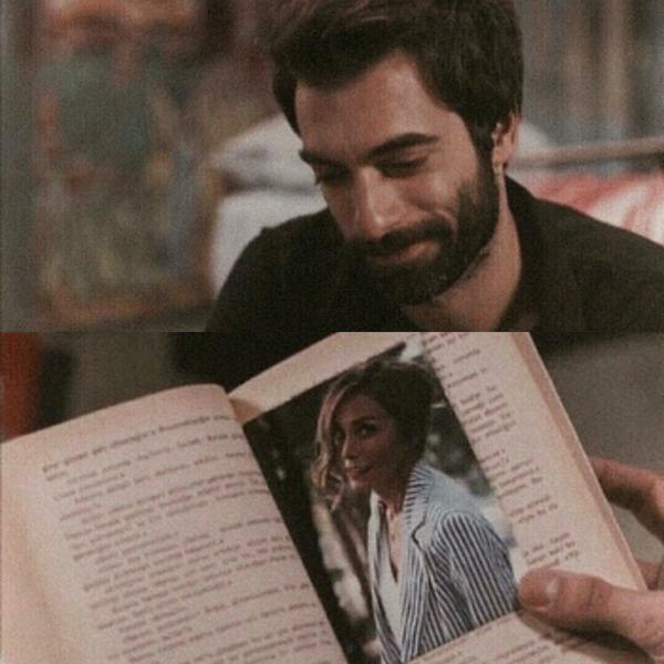 Fotoğrafını kitabımın ayracı yaptım kaldığım yeri en iyi sen hatırlarsın