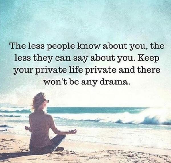 Magst du Leute die sich in dein Privatleben schleichen