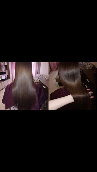 Что сделала с волосами