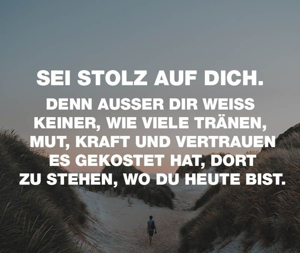 was macht dich stolz