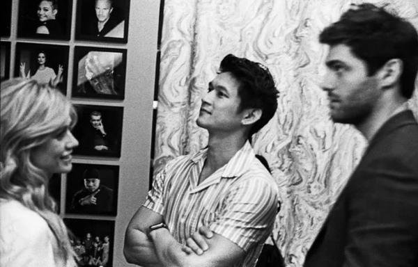 news  Niewidziane wcześniej zdjęcie Harryego Kat i Matta zza kulis wywiadu