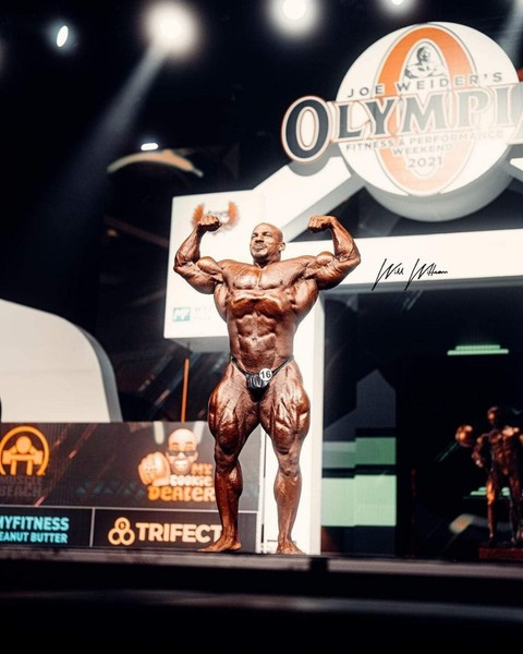 Mr Olympia is here