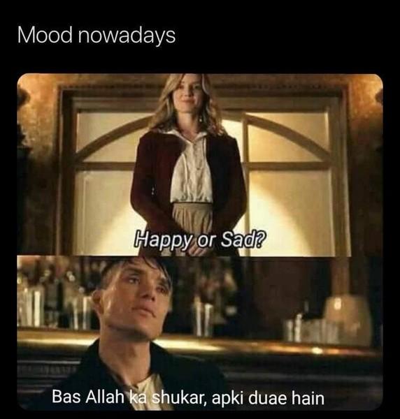 mood nowadays