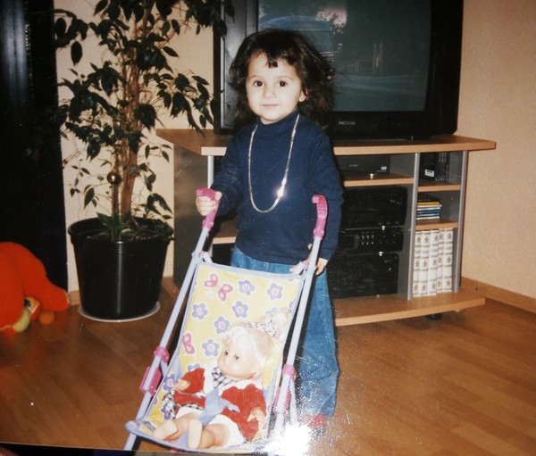 Ein Photo aus deiner Kindheit