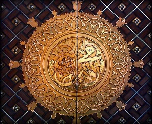 أنت الضياء إذا الظلام تسيدا  صلى عليك الله دهرا سرمدا ﷺ