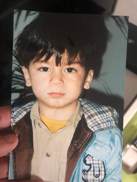 Poste ein Kindheitsfoto von dir