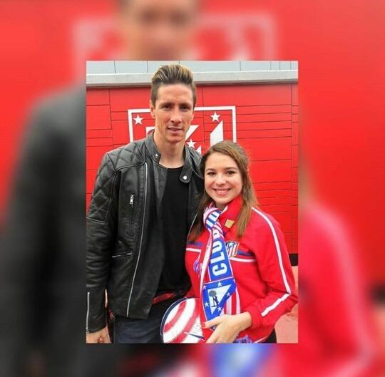 Zdjęcie Torresa z fanem